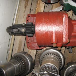 Редуктор пускового двигателя РПД МТЗ-80-82